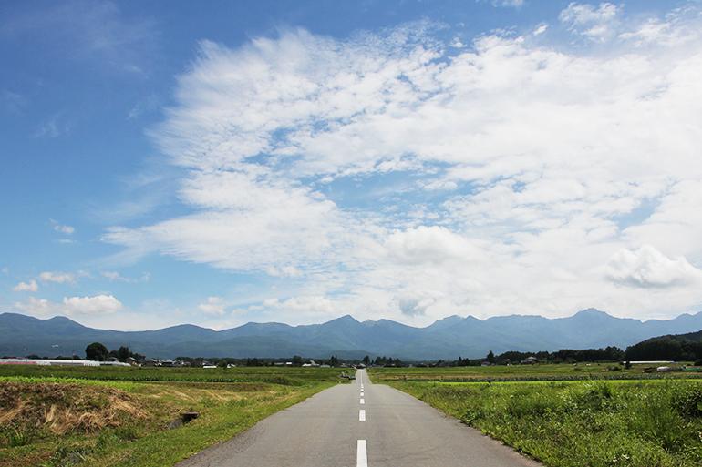 八ヶ岳を眼前に臨む信州茅野奥田農園