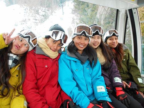 スキー体験
