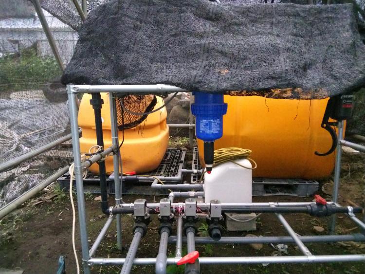 養液栽培管理装置